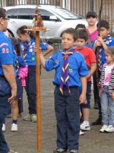 Sammy at Scouts